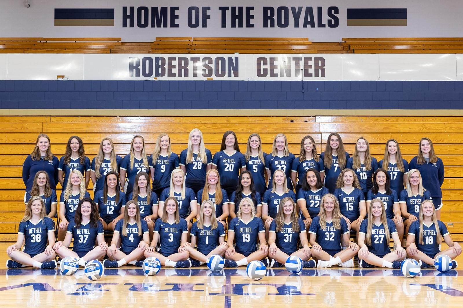 2019 Volleyball Roster Bethel University Athletics
